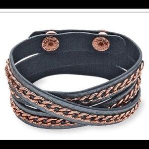 Premier Designs On the Edge Wrap Bracelet